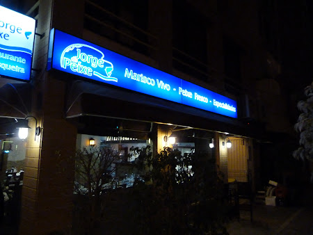 Fructe de mare Algarve: Restaurant Jorge Peixe Vilamoura
