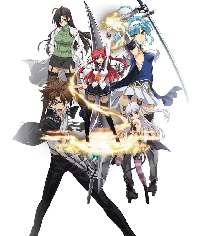 Shinmai Maou no Testament_anime