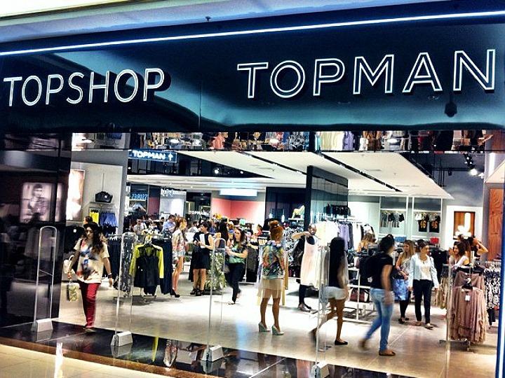 TOPSHOP abre mais uma loja no Brasil – Gift cards de R  200 para os  primeiros clientes. 1ab1250962