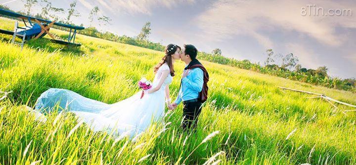 Cô dâu bao h cũng xinh đẹp hơn chú rể mà ^_^