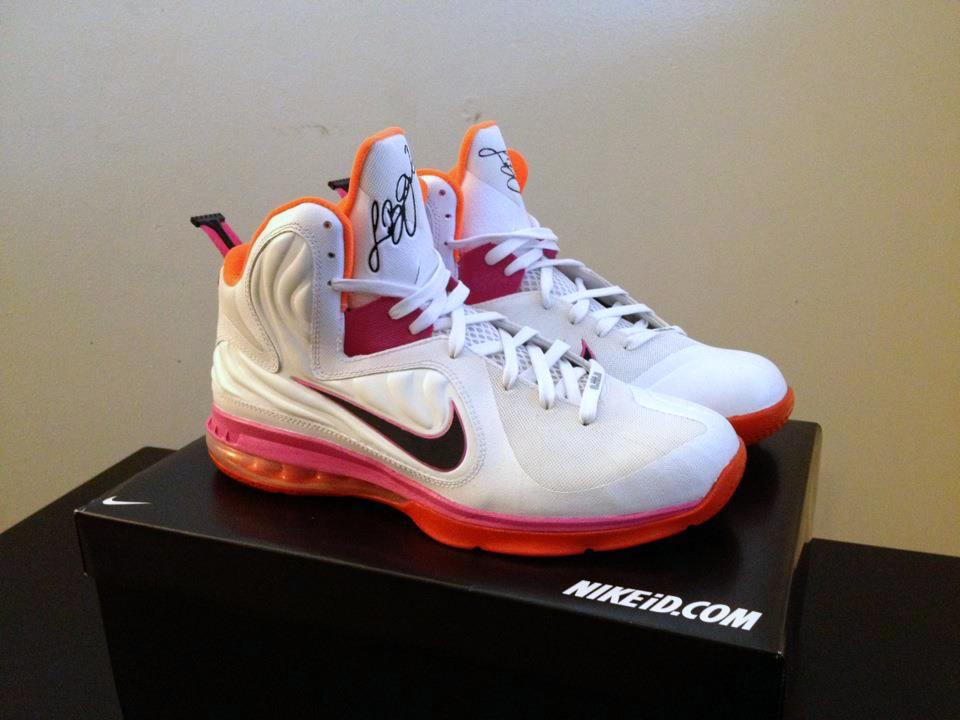 hot sale online a3b55 31f39 ... Nike LeBron 9 HWC 8220Floridians8221 Player Exclusive or Custom ...