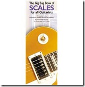 gig bag book of scales