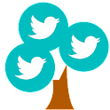 Branches for Twitter icon