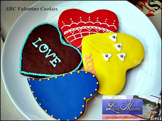 Seattle's Best Coffee's Valentine Cookies