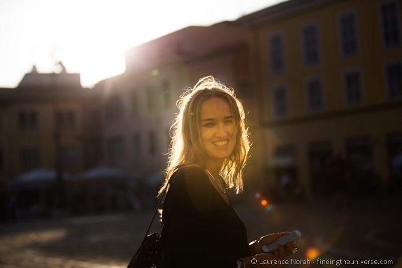 Girl in Fano Italy