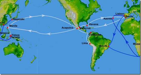 Spanish Trade Route
