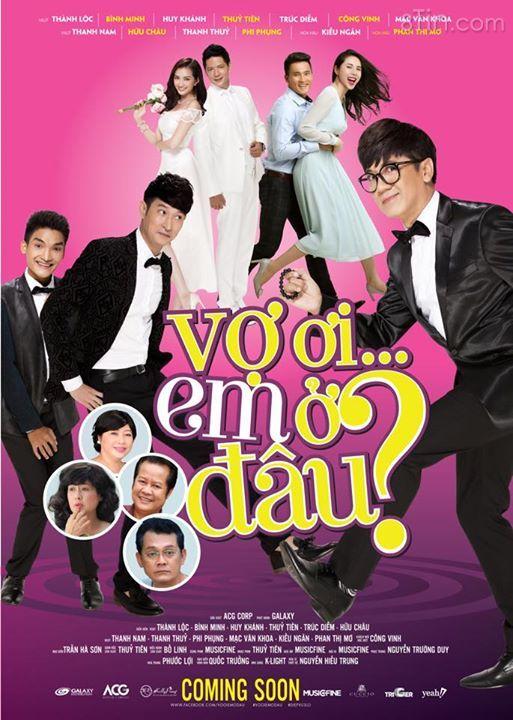 Poster chính thức của phim Vợ Ơi Em Ở Đâu? .. Mọi