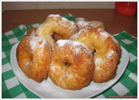 Домашние пончики. www.samapovar.ru