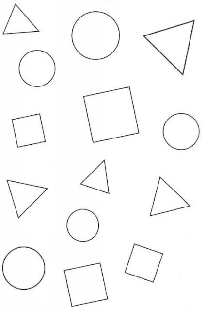 Dibujos De Figuras Geometricas Animadas Para Pintar