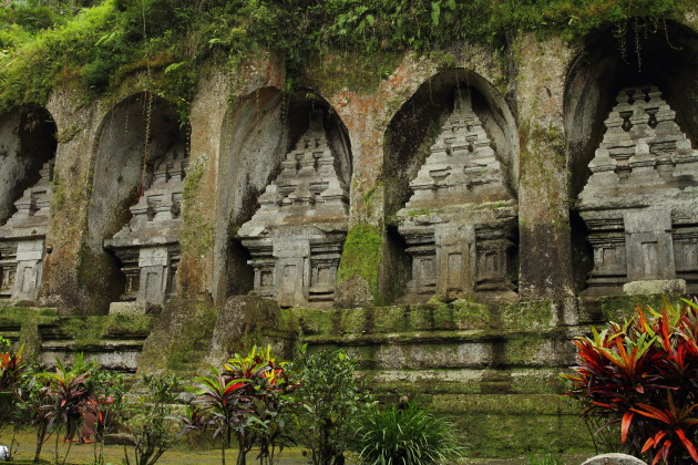 Rock cut temples in Gunung Kawi, Ubud, Indonesia