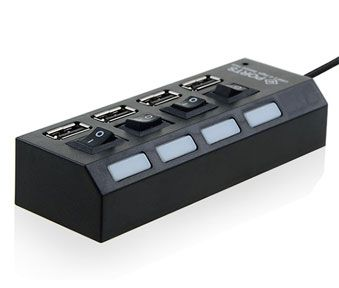 USB 2.0 4 Port Super Hub