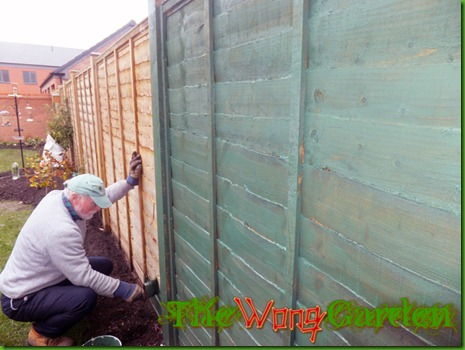 This Is A Picture Of My Dad Helping Us To Paint I Was Obviously Too Just Stopped Take The Very Important Photos But Fence Did Look