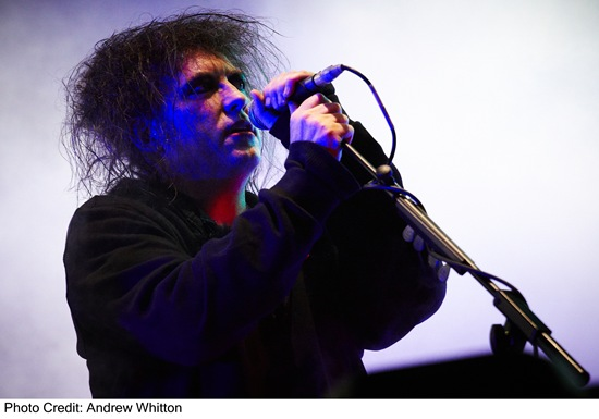 Robert Smith The Cure Bestival 2011