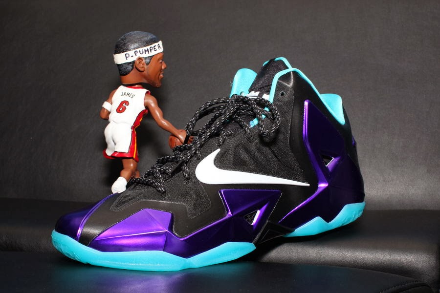 5d2c1a0906c9 NIKEiD LeBron 11 Summit Lake Hornets Build by PPumper