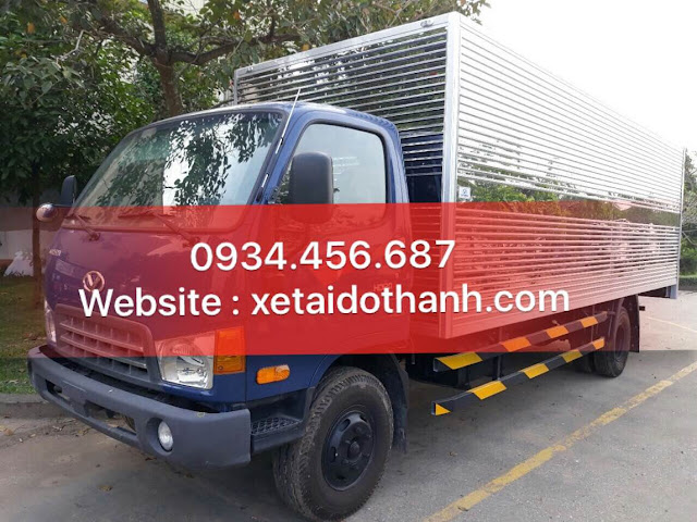 Hyundai HD120sl 8 tấn thùng kín dài 6,2m