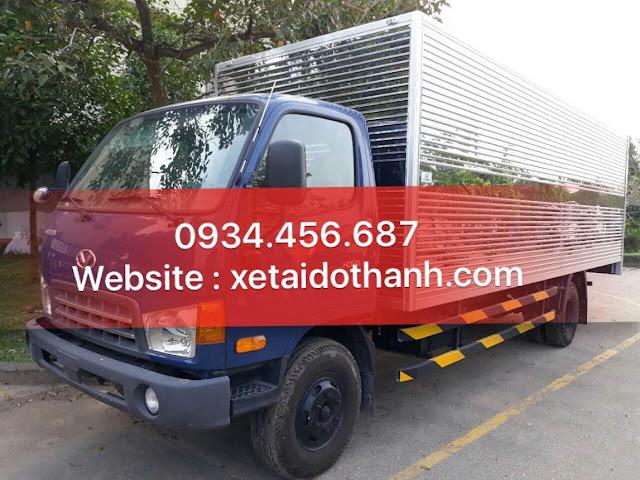 Mua bán xe tải 8 tấn HD120sl thùng kín trả góp qua ngân hàng