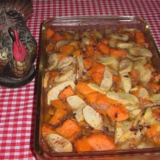 Yam and Apple Casserole
