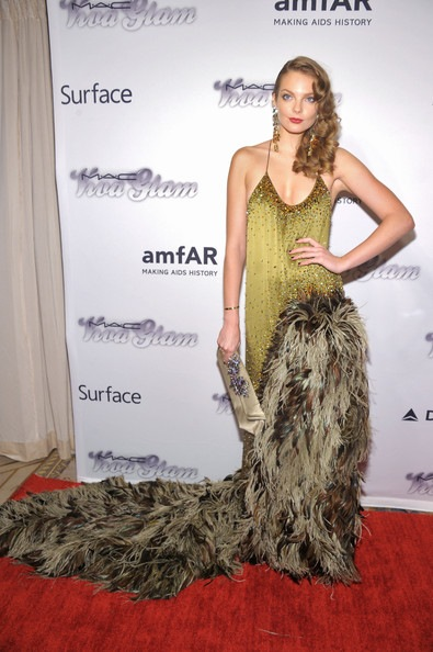 Eniko Mihalik 4th Annual amfAR Inspiration Gala New York