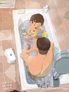 Đừng để tuổi thơ con mơ hồ hình ảnh bố! Xem hết loạt ảnh về cách chăm con của ông bố Nhật Bản trong bài viết nhé