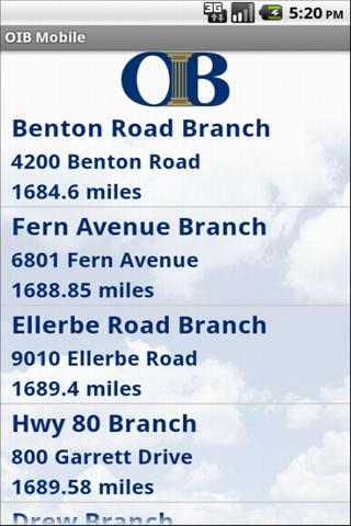 Ouachita Independent Bank- screenshot