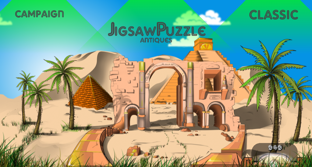 Jigsaw Puzzle Antiques - screenshot