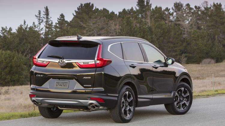 Đánh giá xe Honda CR V 2017 02