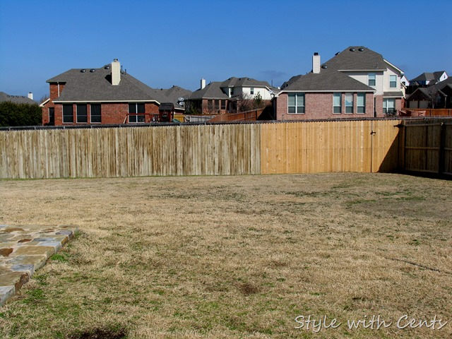 How To Stain An Old Worn Out Fence For Dirt Using Oops Paint