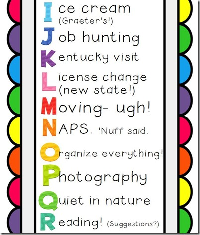 ABC of Summer Bucket List Editable2