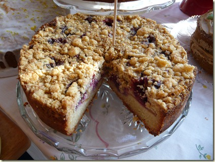 blackberry and apple cake crumble