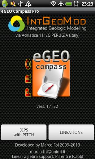 eGEO Compass ProDEMO IntGeoMod