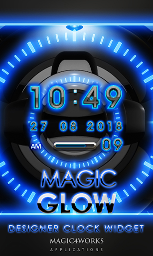 Glow Magic Digital Clock