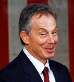 Tony Blair, a British (?) morally imbecile
