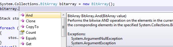 BitArray