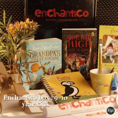 A Sneak peek at what Enchantico subscribers got in August You can subscribe at