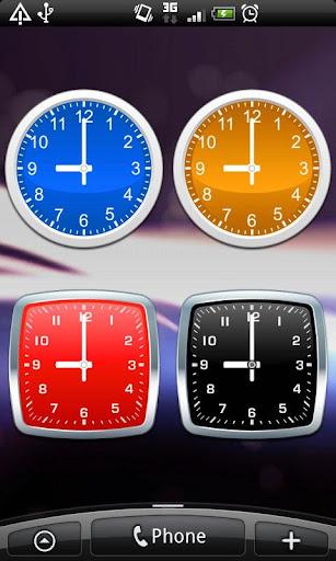 玩免費個人化APP|下載模擬時鐘小工具 - 簡單 app不用錢|硬是要APP