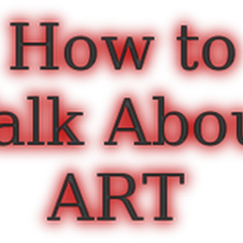 How to Talk About and Sell Your Art