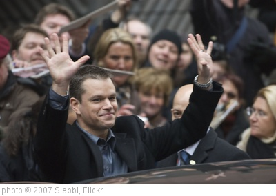 'Matt Damon' photo (c) 2007, Siebbi - license: http://creativecommons.org/licenses/by/2.0/