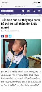 Khốn nạn chồng lên khốn nạn: Giáo hội Phật Giáo Thanh Hoá cố tình đổi trắng thay đen vụ cháu bé bị xà nữ Đàm Trang hành hạ!