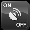 GPS OnOff Donate logo