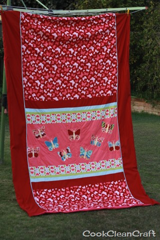 Butterfly Quilt Cover (2)