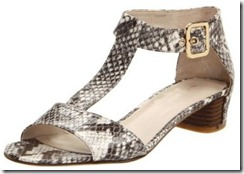 Nine West Briteside Flat Snakeskin Sandal