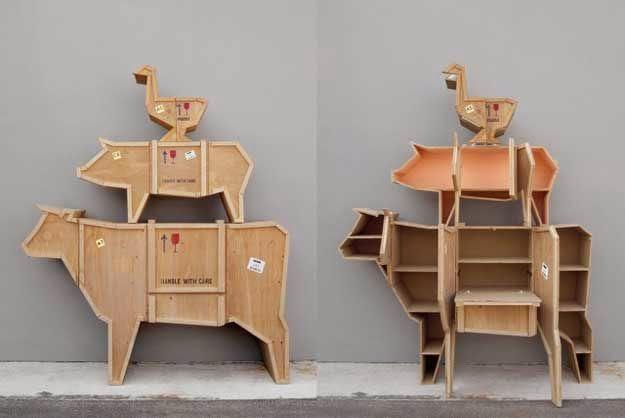 Tủ hình con vật