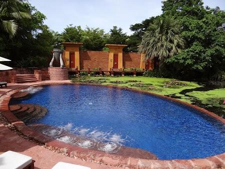Luna de miere Thailanda: Piscina 2 la Hotel Anantara Resort & Spa Hua Hin