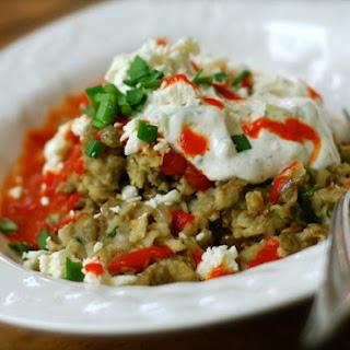 Koshary Bowl {egyptian Street Food}.