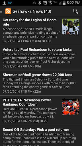 News - Seattle Football