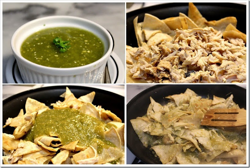 Chilaquiles Verdes with Chicken | Instructions step by step, quick and easy
