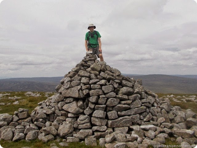 alistair on top of mickle fell
