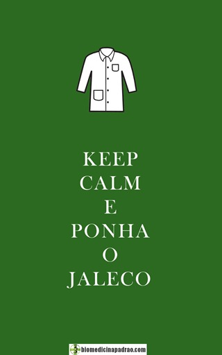 KEEP JALECO BIOMEDICINA
