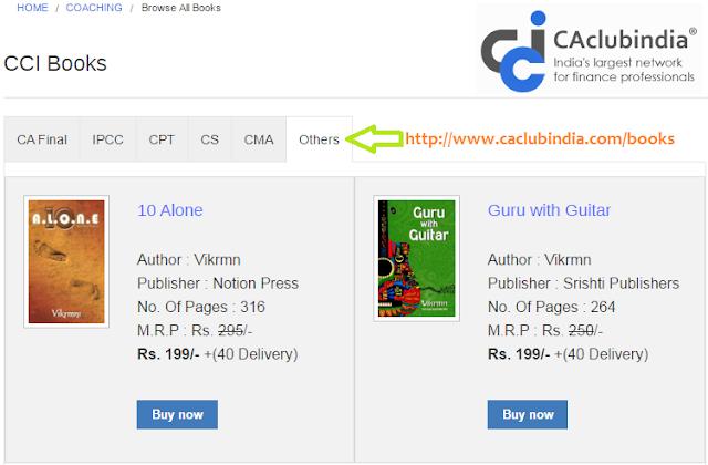 buy_guru_with_guitar_10_alone_caclubindia_discount_vikrmn_ca_author_motivational_speaker_chartered_accountant_srishti_vikram_verma