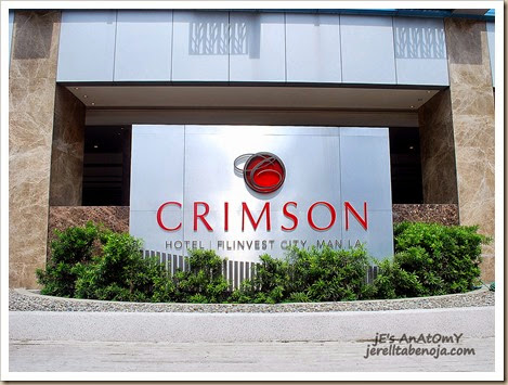 Hotel Review: Crimson Hotel - jE's AnAtOmY